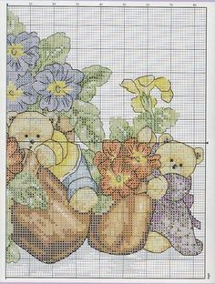 Gallery.ru / Фото #44 - 81 - mila29 Cross Stitch Flowers, Counted Cross Stitch Patterns, Rug Hooking, Basic Colors, Cross Stitching, Needlepoint, Needlework, Vintage World Maps, Embroidery