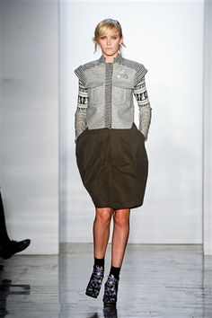 Military-Inspired.  One of the top ten trends shown in this Fall 2012 fashion report.