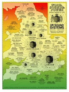 Regional Map : UK Soundsystem