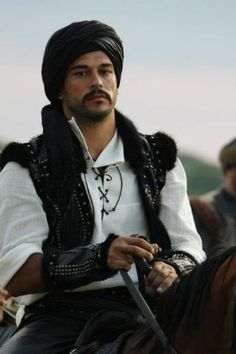 Malkocoglu Bali Bey - Not usually my type, but I just can't help myself. This guy is really handsome in the show Magnificent Century! lol
