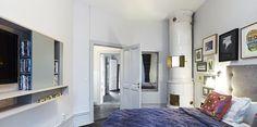 FLODEAU.COM Minale Minale Architects Sodermalm Penthouse Master-Bedroom