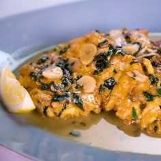 Michael Symon's Chicken Francaise Recipe to die for! Great Sunday Dinner Dish!