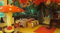 Herfsthoek Prins Clausschool Zutphen Expo, Autumn, Fall, School, Outdoor Decor, Stage, Kids, Nature, Haunted Forest
