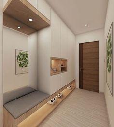 Apartment Entrance, Home Entrance Decor, House Entrance, Entryway Decor, Entrance Foyer, Small Entrance, Entrance Ideas, Entrance Table, Modern Entrance