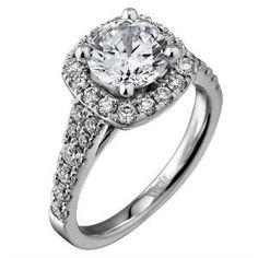 luminaire, scott kay, engagement ring
