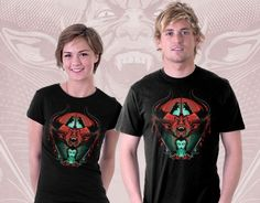 Cool T-Shirt for Women and Men Demon