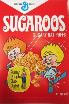 For a brief time in 1968 to 1969, the Flupers from Fluperland brought Sugaroos cereal to Earthlings on Earth.