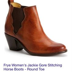 Frye booties JACKIE gore booties. Soft comfortable leather. Offered in brown camel and black. New with tags and box. $300 each. Frye Shoes Ankle Boots & Booties