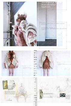 ILLUSTRATION || Jousianne Propp - I am what I am ¦ am I what am I? Fashion & Textiles design development & sketchbook work