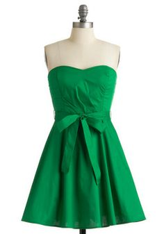 Zest is More Dress in Green, #ModCloth