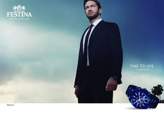 The watchmaker Festina launches its new campaign 'Time to Live' with the actor Gerard Butler as brand ambassador. http://www.missfashionnews.com/2016/03/11/ambassador-gerard-festina-butler/