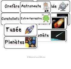 This is words that can be used while teaching an inquiry on space or the solar system. Space Words, Solar System, Teacher, French, Wall, Professor, French People, Teachers, Walls