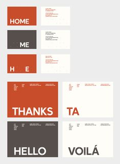 HOME, and new identity designed by o street and Creative Concern.