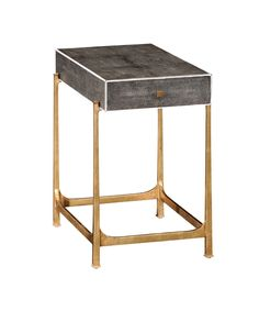 English-country-antiques-brass-frame-side-table-furniture-side-tables-brass-leather