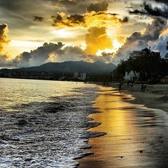 Bucerias, Nayarit Mexico not Riviera Maya still a beautiful Mexican sunrise scene Puerto Vallarta, Beautiful Places To Visit, Places To See, Bucerias Mexico, Visit Mexico, All Nature, Mexico Travel, Beautiful Sunset, Nature Pictures