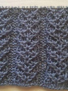 Knitting Paterns, Knitting Videos, Knitting Charts, Easy Knitting, Knitting Designs, Knit Patterns, Crochet Waffle Stitch, Crochet Yarn, Crochet Stitches