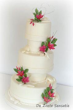 Beachy Weddingcake
