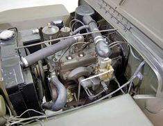 1946 Willys Jeep Engine 1 View
