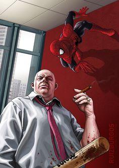 #Spiderman #Fan #Art. (SPIDER-MAN) By: RUIZBURGOS. (THE * 5 * STÅR * ÅWARD * OF: * AW YEAH, IT'S MAJOR ÅWESOMENESS!!!™)[THANK Ü 4 PINNING!!!<·><]<©>ÅÅÅ+(OB4E)