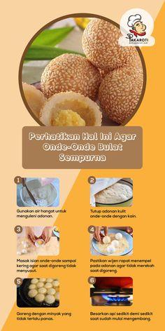 Indonesian Food Traditional, Indonesian Cuisine, Traditional Cakes, Baking Tips, Baking Recipes, Snack Recipes, Dessert Recipes, Potato Doughnuts Recipe, Yummy Snacks