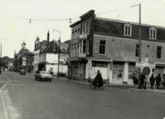 1966.                                                           Hoek Jansweg/ nieuwe gracht.