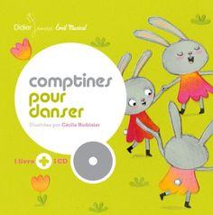 Comptines pour danser de Cécile Hudrisier http://www.amazon.fr/dp/2278065211/ref=cm_sw_r_pi_dp_f5RCwb13M639P