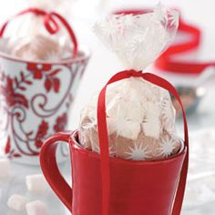 Top 25 Food Gifts from Taste of Home, including Cinnamon Hot Chocolate Mix Recipe