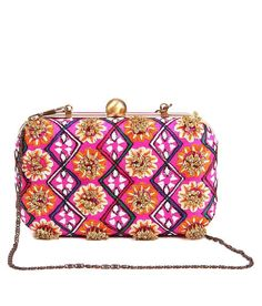 5 elements clutch with sequin flower embroidery, http://www.snapdeal.com/product/5-elements-clutch-with-sequin/330196202