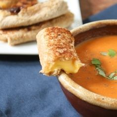 Grilled Cheese Rolls- a genius idea! @ Tasty Holiday Food Ideas