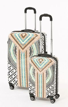Hale Bob Women's Bri Luggage Set