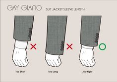 Cuff guide Mens Spring Fashion Outfits, Mens Fashion Suits, Mens Suits, Mens Style Guide, Men Style Tips, Real Men Real Style, Business Outfit, Sharp Dressed Man, Men's Grooming