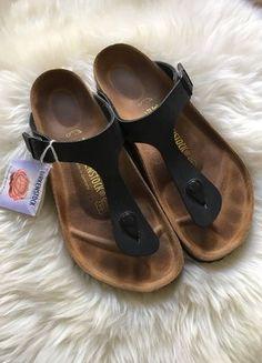 Kaufe meinen Artikel bei #Kleiderkreisel http://www.kleiderkreisel.de/damenschuhe/sandalen/147705683-must-have-birkenstock-sandale-gizeh-schwarz-100-naturleder