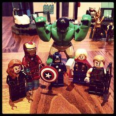 Avengers Assemble #lego
