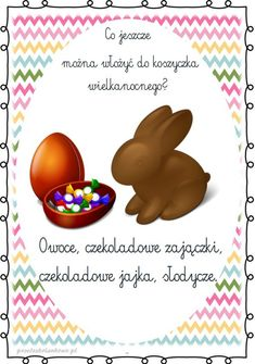 KOSZYCZEK WIELKANOCNY – prezentacja multimedialna + plansze – Przedszkolankowo Diy And Crafts, Paper Crafts, Cute Coloring Pages, Hand Lettering, Holiday, Polish, Speech Language Therapy, Easter Activities, Vacations