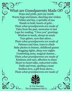 What are grandparents made of?