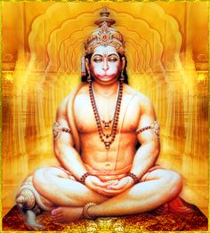 HANUMAN - symbol of surrender, faith, pure courage