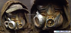 LARP - LRP - Airsoft mask for Fallout post apocalypse costume made by Mark… Apocalypse Costume, Apocalypse Gear, Apocalypse Fashion, Post Apocalyptic Clothing, Post Apocalyptic Costume, Post Apocalyptic Fashion, Mad Max Cosplay, Wasteland Warrior, Dystopia Rising