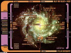 The 4 quadrants of the galaxy