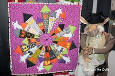 Just Let Me Quilt is definitely ready for the Seams To Be Sew Enter if U Dare Blog Hop! I love, love, love Halloween! Thanks, Marian...