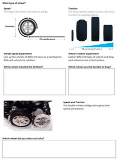 FLL Robot Design Worksheet - Wheels (just this page)