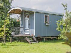 Bauwagen - Schmiedequartier in Hollenbeck: 1 Schlafzimmer, für bis zu 1 Personen. Urlaub im Bauwagen! Idyllisch die Zeit auf Land verbringen | FeWo-direkt