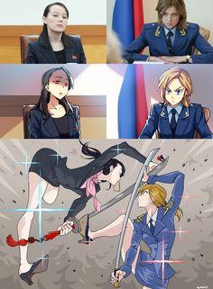 Otaku Anime, Manga Anime, Crazy Funny Memes, Really Funny Memes, Funny Images, Funny Pictures, Anime Version, Anime Crossover, Funny Comics