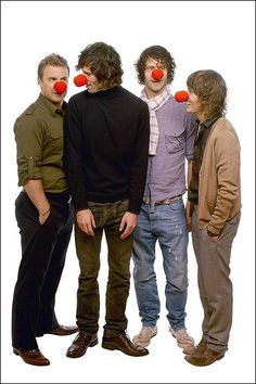 Take That as a four #TT4 #RedNoseDay