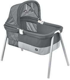 Chicco LullaGo Deluxe Bassinet - Charcoal