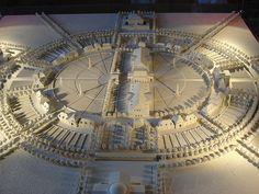 Claude Nicolas LEDOUX maquette, architectural model, maqueta, modulo