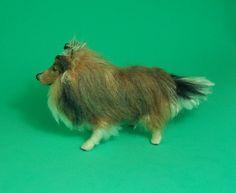 Needle Felted Shetland Sheepdog / Sheltie | by Gai Button