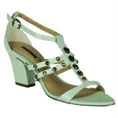 Sandália Dumond Salto Grosso #Summer #Spring #Love #Shoes #Sandalias #Trend #Fashion