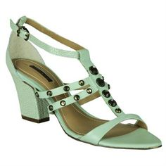 Sandália Dumond Salto Grosso #Summer #Spring #Love #Shoes #Sandalias #Trend #Fashion
