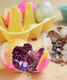 Confetti Easter eggs!