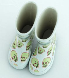 Love Skull Rubber Boots – Gardner and the gang